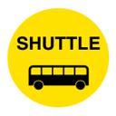 シャトルバス乗り場